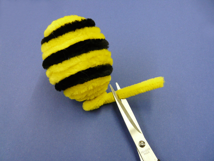 Eine Herrliche Bastelidee Biene Basteln