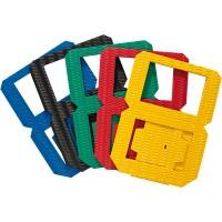 Laternenrohlinge aus Wellpappe in 5 bunten Farben, Set
