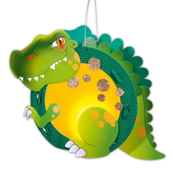 Laterne Basteln Dino Bastanleitung Für Kinder