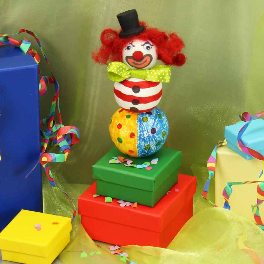 Clown basteln - Clown basteln kindergarten ...