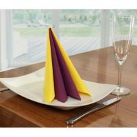 papierservietten uni lila einfarbige servietten in herrlich sch ner qualit t. Black Bedroom Furniture Sets. Home Design Ideas