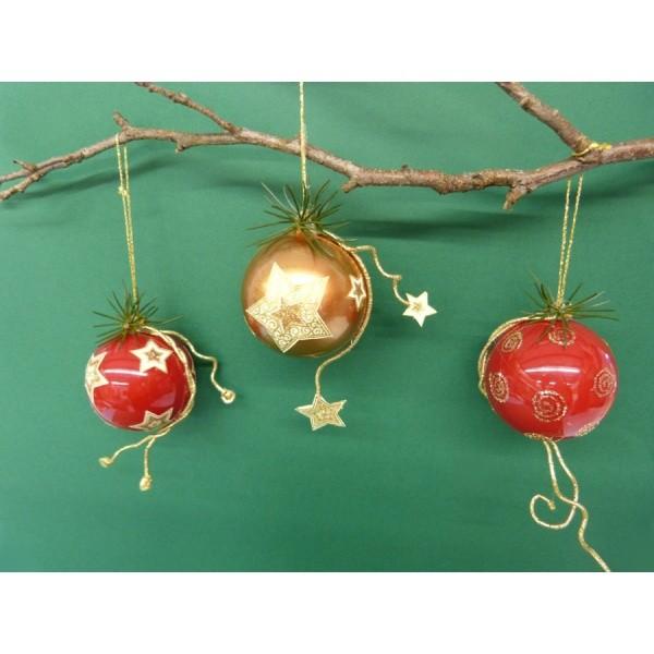 Weihnachtskugeln Selber Machen Eine Wunderschöne Bastelidee
