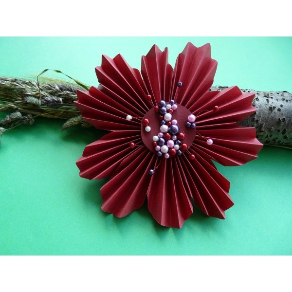 Weihnachtsbasteln Papier.Blumen Basteln Mit Papier Frühling Bastelidee Und Bastelbedarf Bei