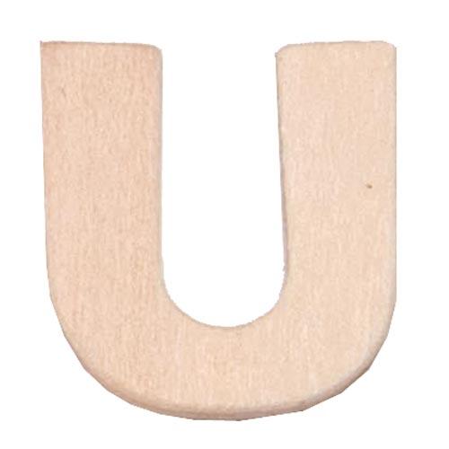 buchstabe u aus sperrholz 6cm gro zahlen und buchstaben aus holz. Black Bedroom Furniture Sets. Home Design Ideas