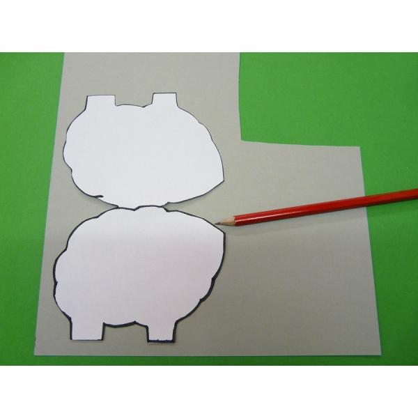 Ein Schaf Basteln Mit Tonkarton Oder Fotokarton Bastelanleitung