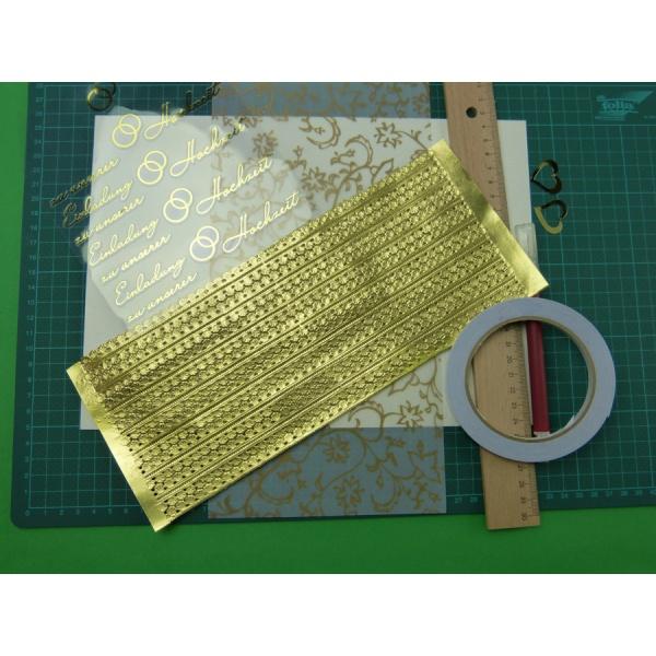 Einladungskarte Goldene Hochzeit Selber Basteln Mit Schonen