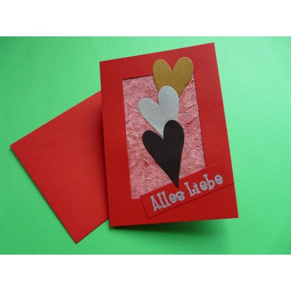 karte muttertag basteln Karte zum Muttertag basteln | eine einfache Bastelidee für Kinder