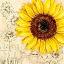 Servietten Blumen