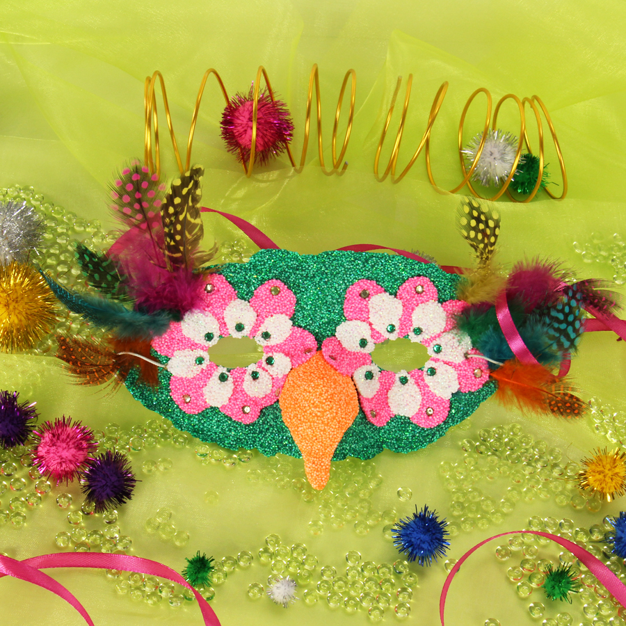 Kindermasken Basteln Fasching Saisonales Basteln
