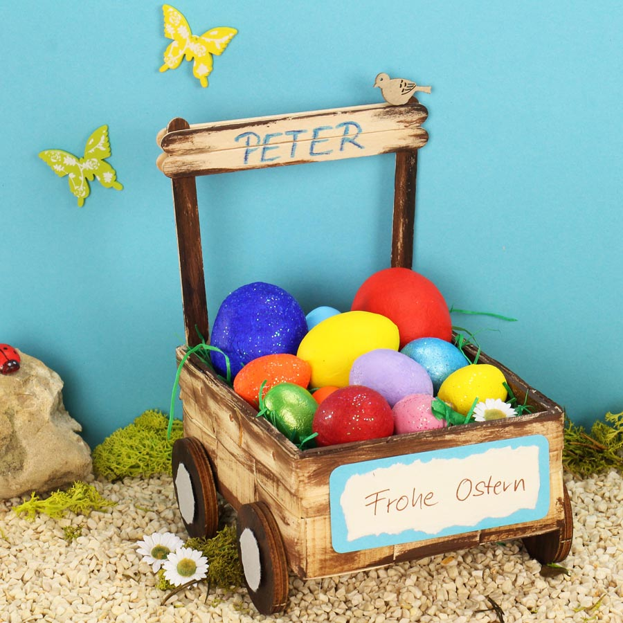 Osternest Basteln Mit Kindern Osternester Osterbasteln