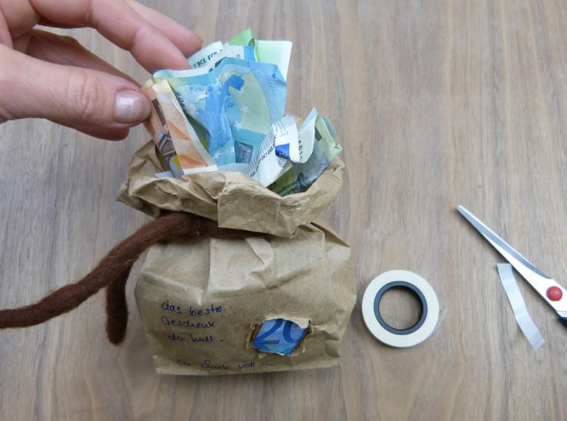 Geldgeschenke geburtstag selber basteln idee von trendmarkt24 - Geschenke zum 18 geburtstag selber machen ...