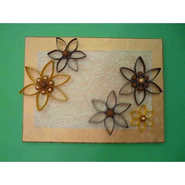 basteln mit buntem papier und gleich ein bild fertigen. Black Bedroom Furniture Sets. Home Design Ideas