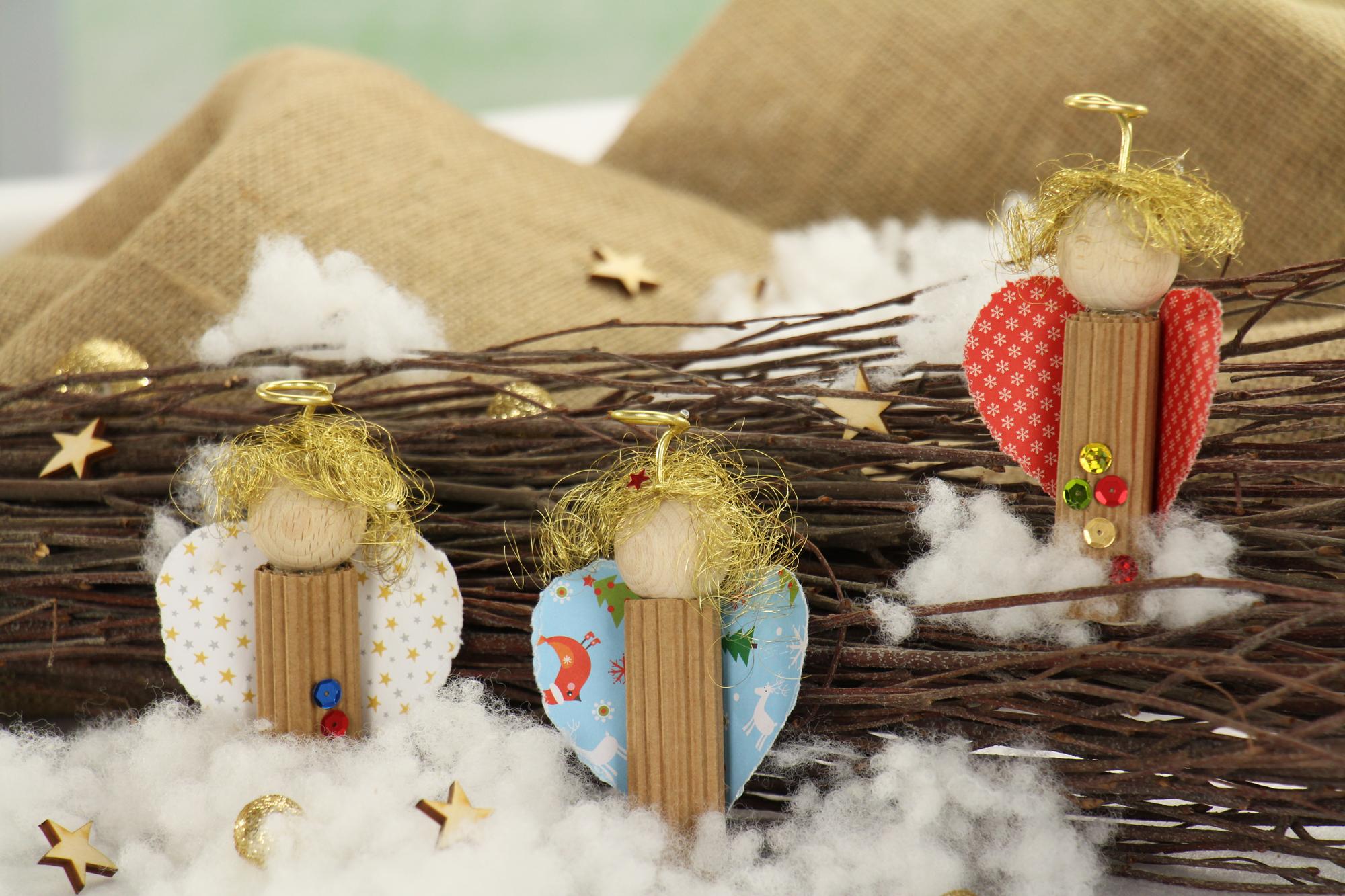 Weihnachtsgeschenke Basteln.Weihnachtsgeschenke Basteln Ideen Engelchen Deko
