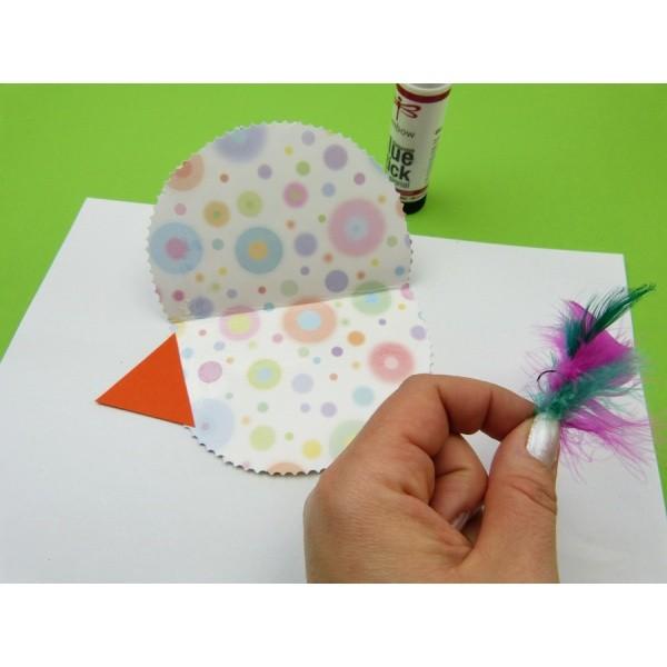 Fensterdekoration Papiervogel Mit Kindern Basteln