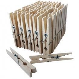 Wäscheklammern Holz