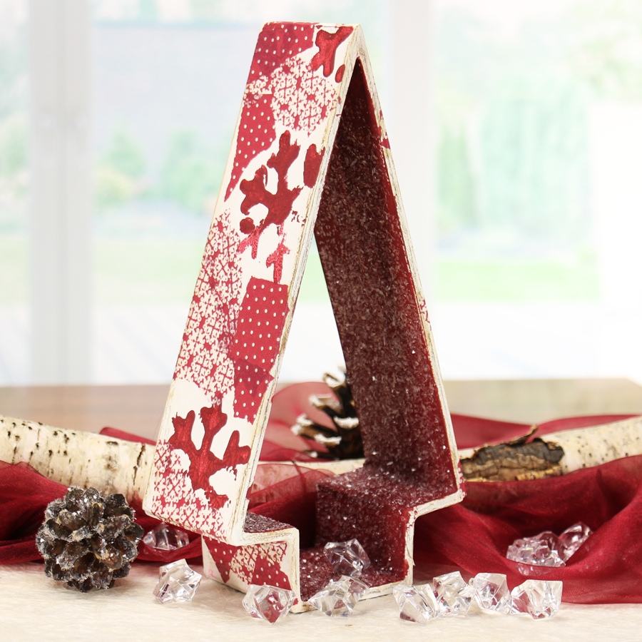 deko weihnachten weihnachtliche tischdeko basteln. Black Bedroom Furniture Sets. Home Design Ideas