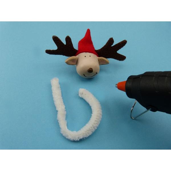 basteln f r weihnachten eine bezaubernd sch nen elch. Black Bedroom Furniture Sets. Home Design Ideas