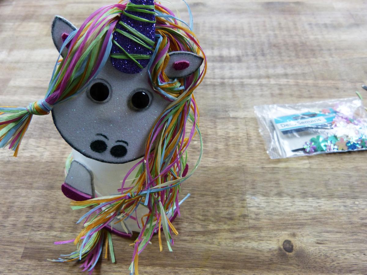 Einhorn Basteln Kreative Bastelidee Mit Kindern