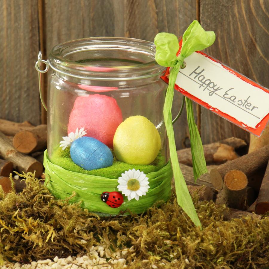 Frühlingsdeko Basteln frühlingsdeko basteln oster tisch dekoration
