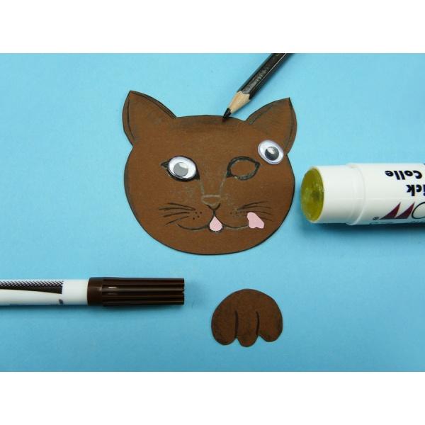 Favorit Katze basteln aus Papier   Eine schöne Idee zum Nachmachen ZK11