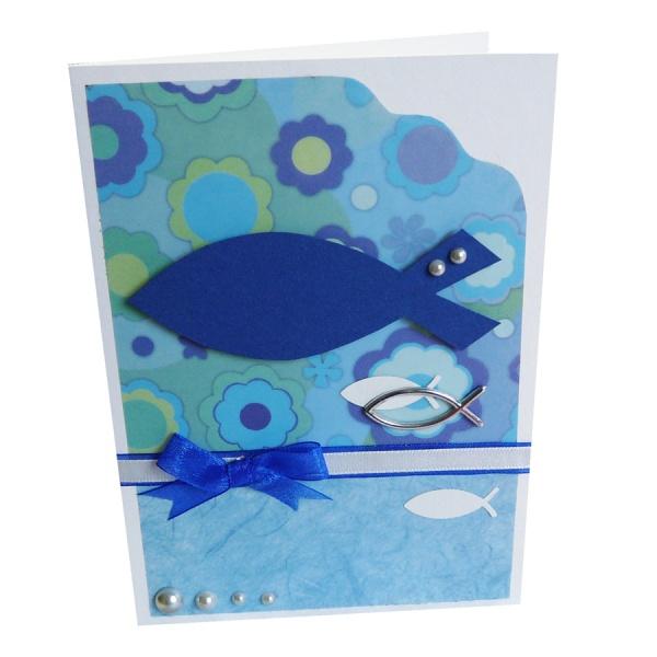 einladungskarten konfirmation selber basteln bastelidee zum nachbasteln. Black Bedroom Furniture Sets. Home Design Ideas