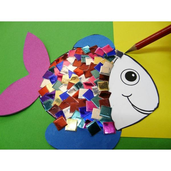 eine tolle anleitung zum fische basteln im kindergarten f r kindergartenkinder ganz einfach