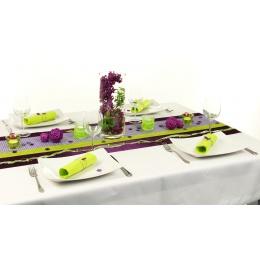 Tischdeko Lila Grun Tischdekorationen Trendmarkt24