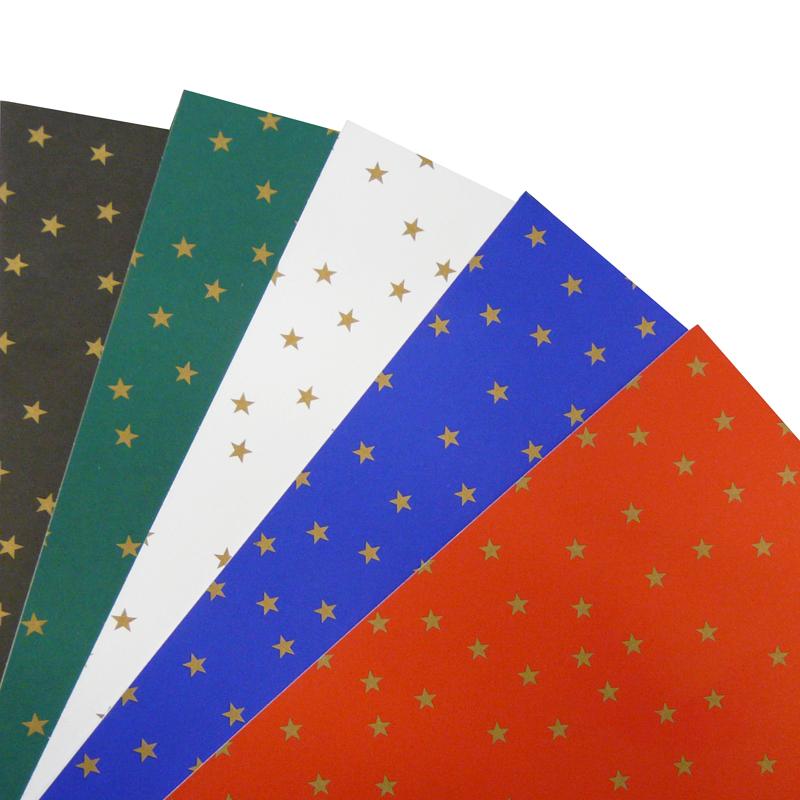 fotokarton mit sternen farbig bestellen sie das wundervolle weihnachtspapier g nstig im onlineshop. Black Bedroom Furniture Sets. Home Design Ideas