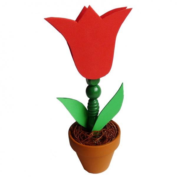 Basteln Fruhling Mit Kindern Eine Schone Blume Basteln