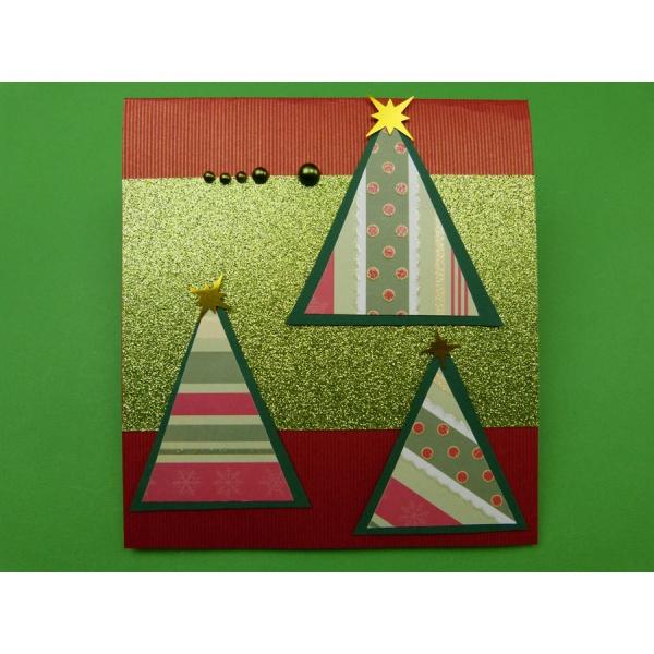 weihnachtskarte basteln ein faszinierende weihnachtskarte mit popup. Black Bedroom Furniture Sets. Home Design Ideas