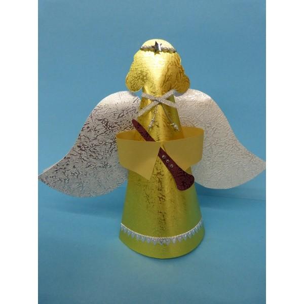 Engel Falten Eine Schöne Bastelanleitung Gratis Für Die Weihnachtszeit
