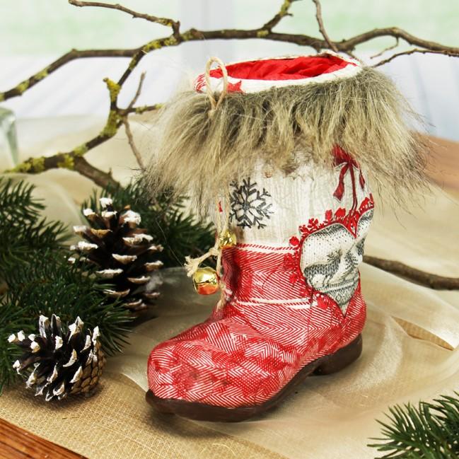 nikolausstiefel basteln weihnachtsdeko weihnachtsbasteln saisonales basteln bastelideen. Black Bedroom Furniture Sets. Home Design Ideas