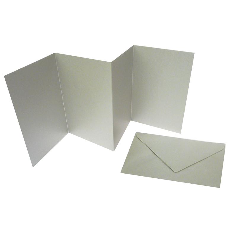 Leporellos silber edle faltkarten f r verschiedene anl sse for Edle dekoartikel