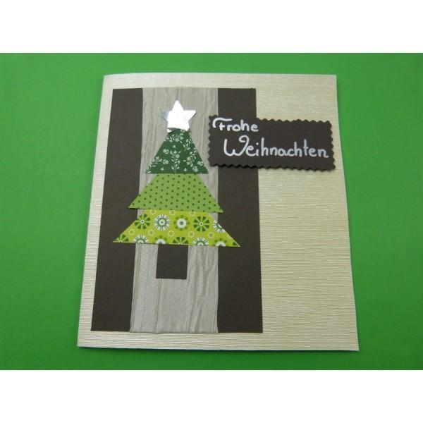 Weihnachtskarten basteln sch ne papiere und bastelideen bei uns im bastelshop - Weihnachtskarten basteln mit kindern ...