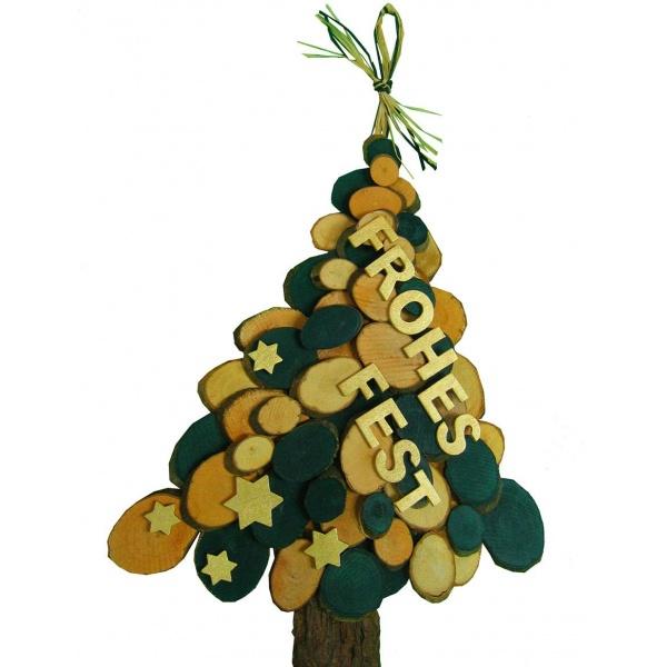 baumscheiben zum basteln weihnachten | tolle anleitung zum basteln!,