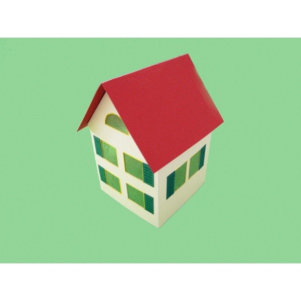 Ein schönes kleines Haus basteln