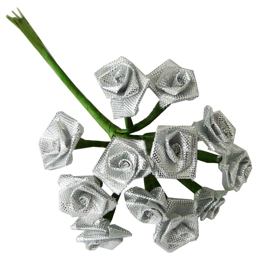 diorr schen silber 15mm gro kunstblumen floristik