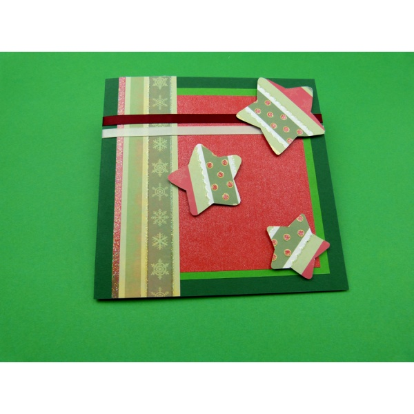 Karten selbst basteln weihnachtskarte selber basteln for Weihnachtskarten selber basteln vorlagen kostenlos