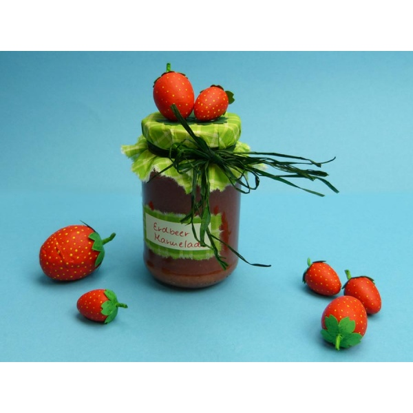 Marmeladenglas dekorieren bastelanleitung bei trendmarkt24 - Marmeladenglas deko ...