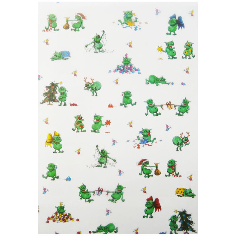 Transparentpapier weihnachtstrolle f r niedliche weihnachtskarten und vieles mehr - Niedliche weihnachtskarten ...