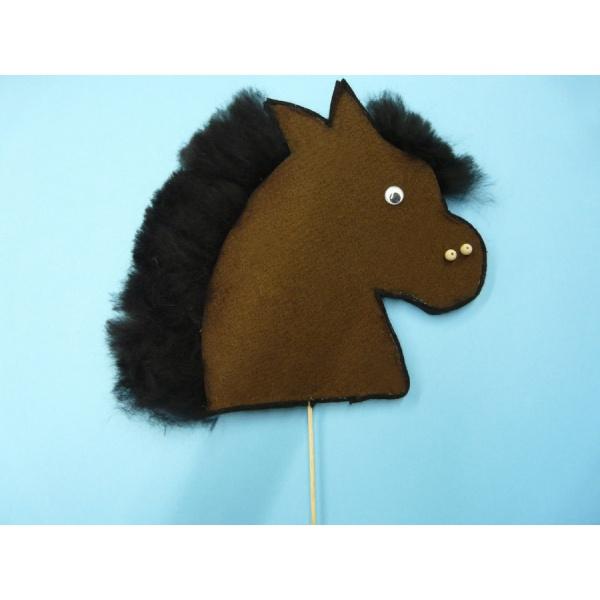 ein pferd basteln mit kindern hier ein kostenloser. Black Bedroom Furniture Sets. Home Design Ideas
