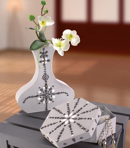 Pappmache Vasen