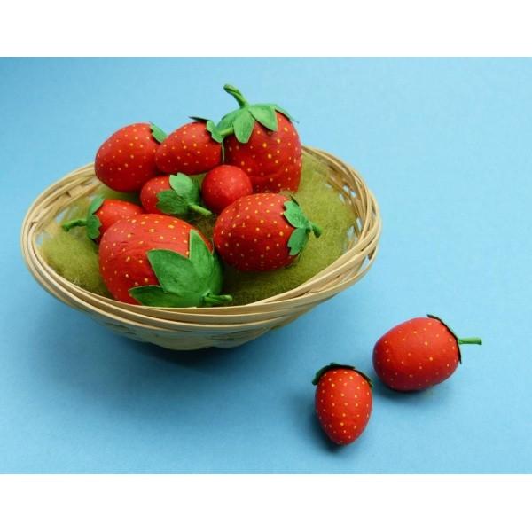 Erdbeer Deko Bastelanleitung Bei Trendmarkt24