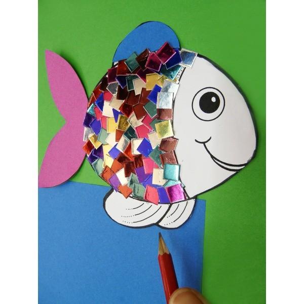 Fisch Basteln Fur Ein Mobile Basteln Mit Kindern 4