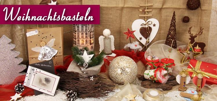 Weihnachts-Bastelmaterial