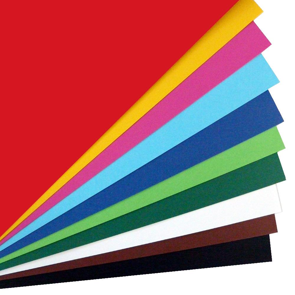 tonkarton glatt farbig mit einseitig glatter oberfl che zum bedrucken und kopieren. Black Bedroom Furniture Sets. Home Design Ideas