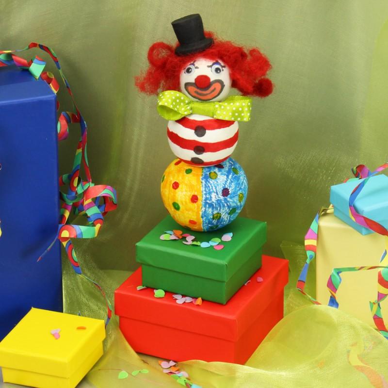 Clown basteln