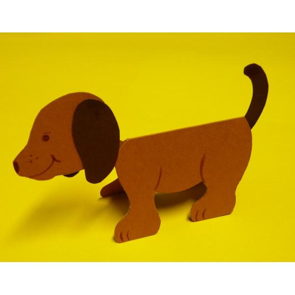 Basteln Hund Eine Einfache Und Tolle Bastelidee