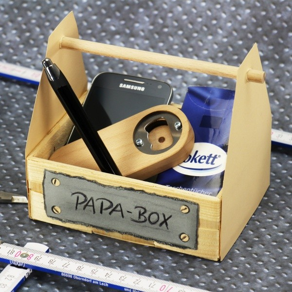 Geschenkideen Fur Papa Papa Box Basteln