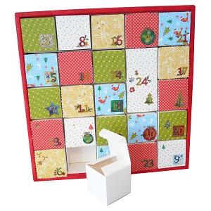 adventskalender bastelset einzigartige kalender basteln tm24. Black Bedroom Furniture Sets. Home Design Ideas